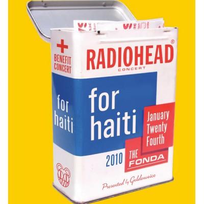 Fãs de Radiohead receberam apoio da banda e lançaram um DVD do show beneficente ao Haiti