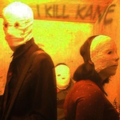 I Kill Kane na cela do presídio gravando seu clip. Foto feita por Eduardo Cooper.