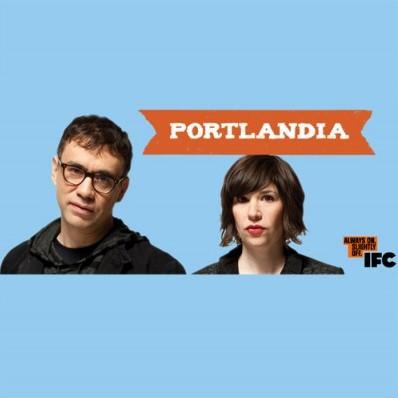 O seriado Portlandia, com Fred Armisen e Carrie Brownstein, estréia sexta (21) pelo IFC