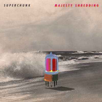 """A capa de """"Majesty Shredding"""", previsto para 14 de setembro."""