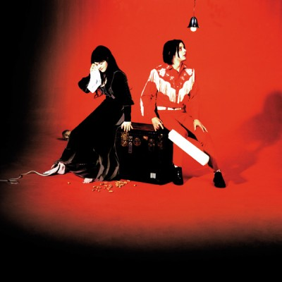 Jack White (vocal e guitarra) e Meg White (bateria)