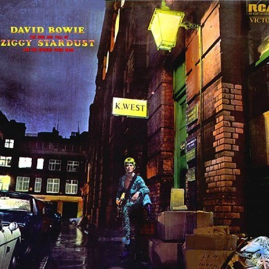 "O campeão - ""The Rise and Fall of Ziggy Stardust And The Spiders From Mars"" de David Bowie"